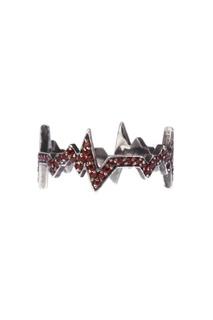 Серебряное кольцо с гранатами Caviar Jewellery