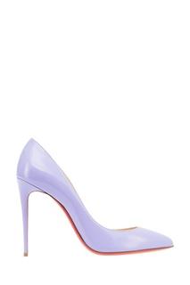 Фиолетовые лакированные туфли Pigalle Follies 100 Christian Louboutin