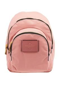 Розовый текстильный рюкзак Marc Jacobs
