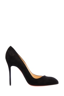 Черные замшевые туфли Corneille 100 Christian Louboutin
