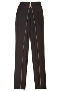 Черные брюки с молнией Alexander Wang