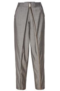 Серые брюки из шерсти и мохера Alexander Wang