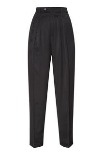 Черные брюки со складками Golden Goose Deluxe Brand