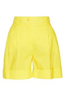 Желтые шорты из хлопка P.A.R.O.S.H.