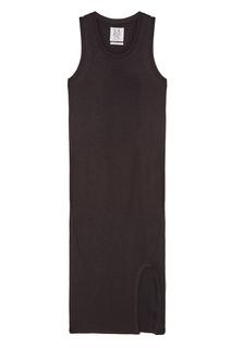 Черное трикотажное платье-миди Zoe Karssen