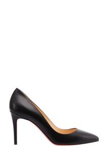 Черные кожаные туфли Pigalle 85 Christian Louboutin