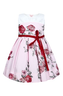 Хлопковое платье с цветочным принтом Simonetta Mini