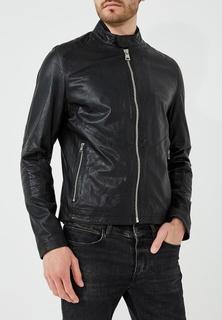 Куртка кожаная Baldessarini