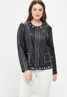 Куртка кожаная Fiorella Rubino