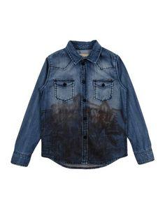 Джинсовая рубашка John Galliano Kids
