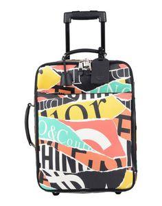Чемодан/сумка на колесиках Moschino