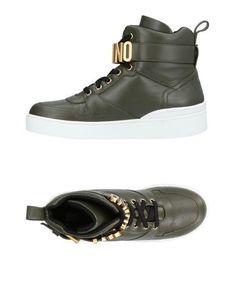Высокие кеды и кроссовки Moschino