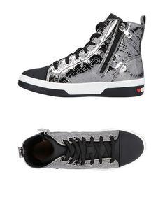 Высокие кеды и кроссовки Love Moschino