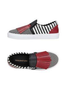 Низкие кеды и кроссовки Pianurastudio