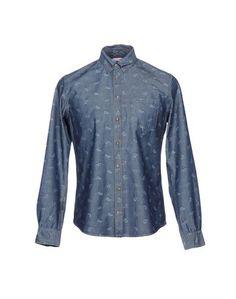 Джинсовая рубашка SUN 68