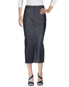 Джинсовая юбка Victoria Beckham Denim
