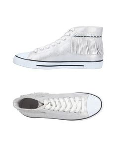 Высокие кеды и кроссовки Trussardi Jeans