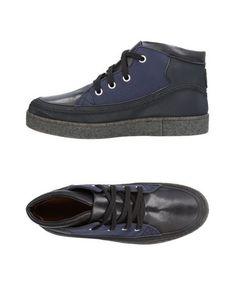 Высокие кеды и кроссовки Trussardi