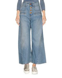 Джинсовые брюки-капри Rodebjer