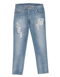 Джинсовые брюки Ermanno Scervino Junior