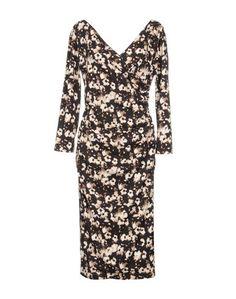 Платье длиной 3/4 Fontana Couture