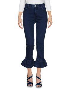 Джинсовые брюки-капри Shaft
