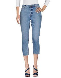 Джинсовые брюки-капри Cheap Monday