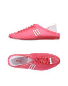 Низкие кеды и кроссовки Melissa