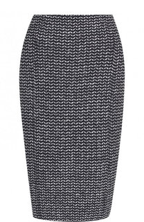 Твидовая юбка-карандаш St. John