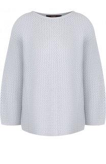 Вязаный пуловер с круглым вырезом Windsor