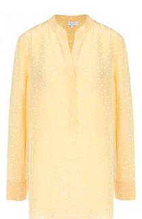Удлиненная шелковая блуза с принтом Escada Sport