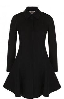 Приталенное пальто из смеси шерсти и кашемира Valentino