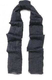 Хлопковый шарф с эффектом крэш Emporio Armani