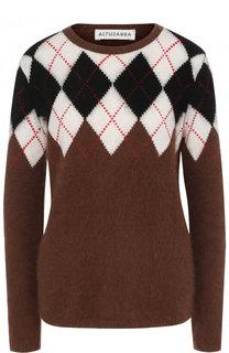 Шерстяной пуловер с круглым вырезом Altuzarra