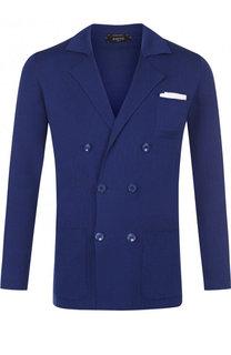 Двубортный хлопковый пиджак Svevo