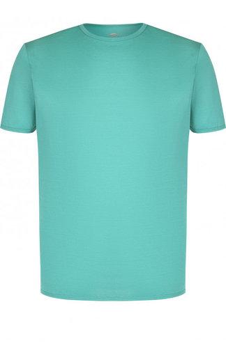 Хлопковая футболка с круглым вырезом Bogner