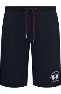 Хлопковые шорты с карманами La Martina