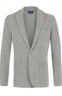 Однобортный шерстяной пиджак Polo Ralph Lauren