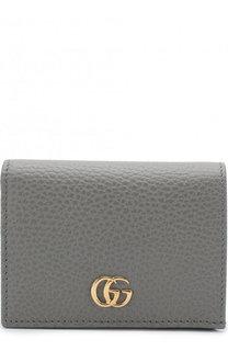 Кожаный футляр для кредитных карт Gucci