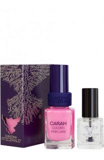 Набор: Лак для ногтей, оттенок Colden Pink Lake + Bond-подготовка Christina Fitzgerald