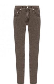 Хлопковые брюки прямого кроя Baldessarini