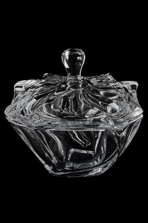 Конфетница с крышкой 19 см Crystalite Bohemia