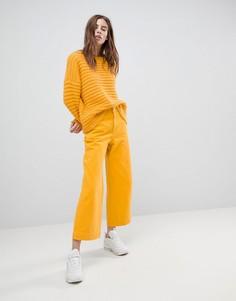 Желтые джинсы Weekday Vida - Желтый