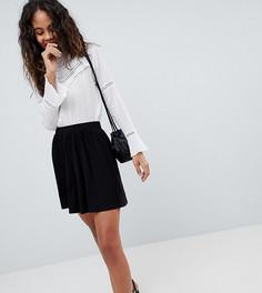 Короткая расклешенная юбка ASOS DESIGN Tall - Черный