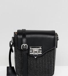 Сумка через плечо с плетеной отделкой Glamorous - Черный
