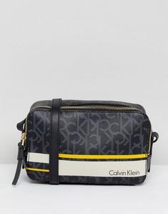 Монохромная сумка Calvin Klein - Черный