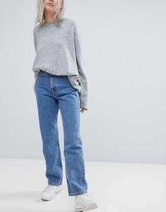 Синие джинсы Weekday - Синий