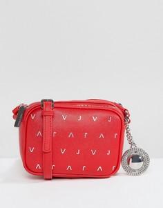 Сумка через плечо на молнии Versace Jeans VJ - Красный