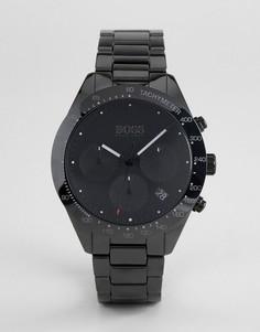 Черные часы с хронографом BOSS 1513581 Talent - Черный