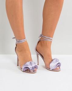 Сиреневые босоножки на каблуке Public Desire Sugar - Фиолетовый
